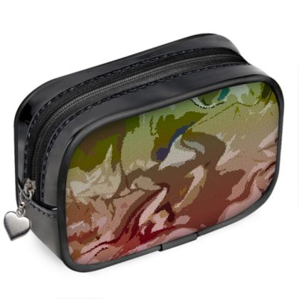 Pouch Purse - Honeycomb Marble Abstract 2