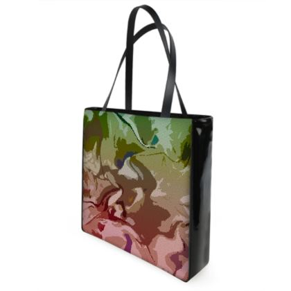 Shopper Bags - Honeycomb Marble Abstract 2