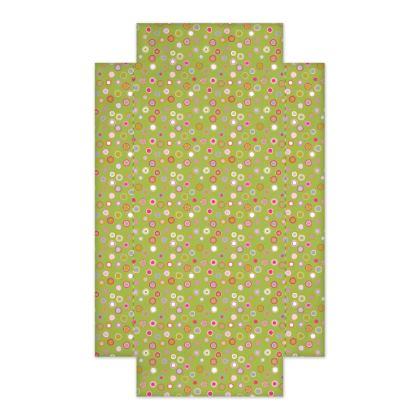 Cupcake Market Green Circles Fitted Sheet
