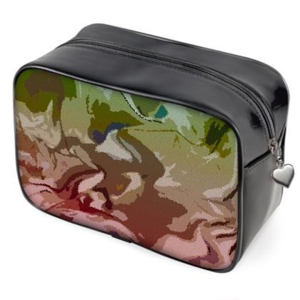 Wash Bags - Honeycomb Marble Abstract 2