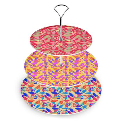 Cake Stand  Cathedral Leaves  Kaleidoscope, Joker, Muse