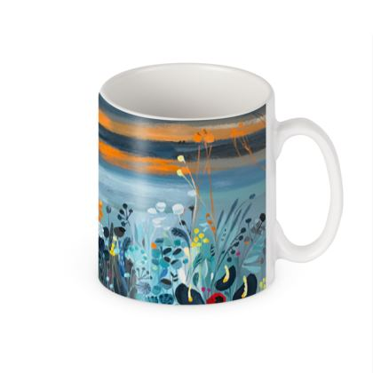 Mug in Natalie Rymer Setting Sun design