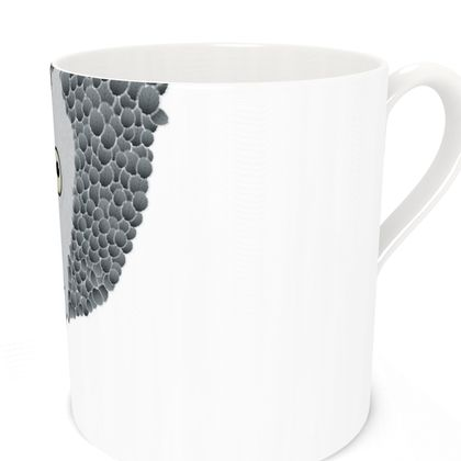African Grey Parrot [WHITE] Coffee Mugs