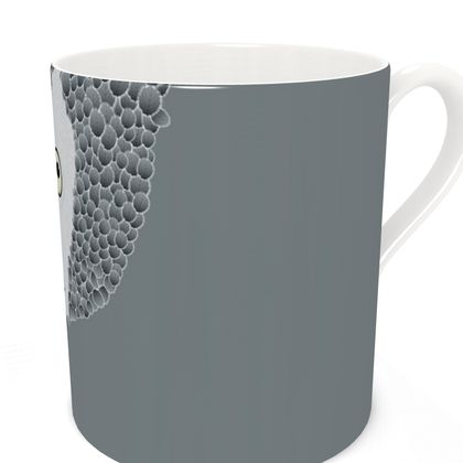 African Grey Parrot [CHARCOAL GREY] Coffee Mugs