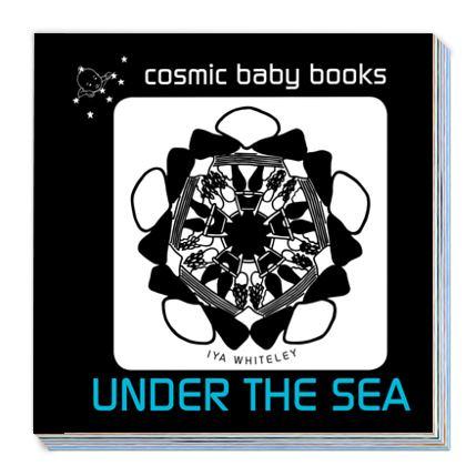 UNDER THE SEA: EARTH DESIGNS PERSONALISED NEWBORN BABY BOOK