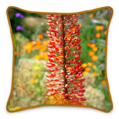 Silk Cushion Pinocchio Foxtail Lily