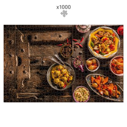 1000 Piece Jigsaw Puzzle Traditional Moroccan cuisine