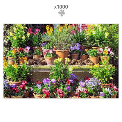 1000 Piece Jigsaw Puzzle Pot Plant Display