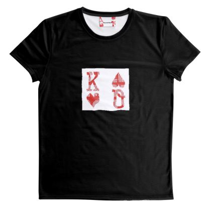 King and Queen - King - Logo T-shirt