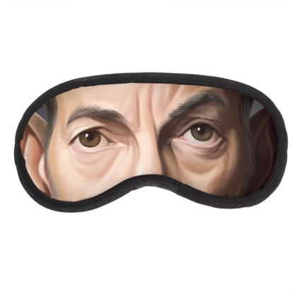 Bruce Springsteen Celebrity Caricature Eye Mask