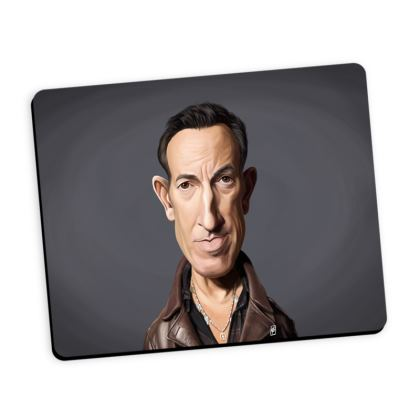 Bruce Springsteen Celebrity Caricature Mouse Mat