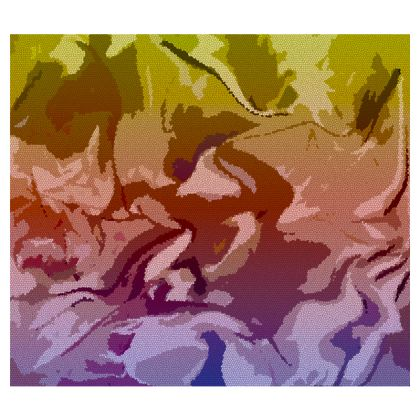 Espadrilles - Honeycomb Marble Abstract 6