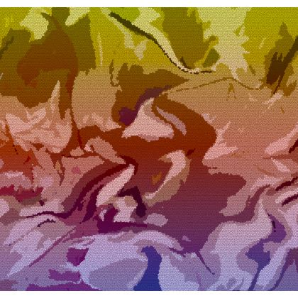 Flip Flops - Honeycomb Marble Abstract 6