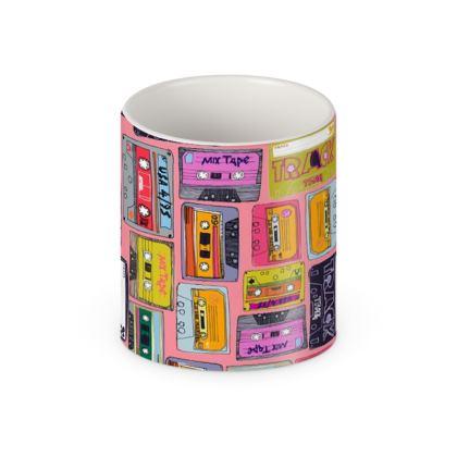 Retro Cassette Builders Mug