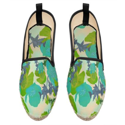 Loafer Espadrilles  Field Poppies  Pharaoh