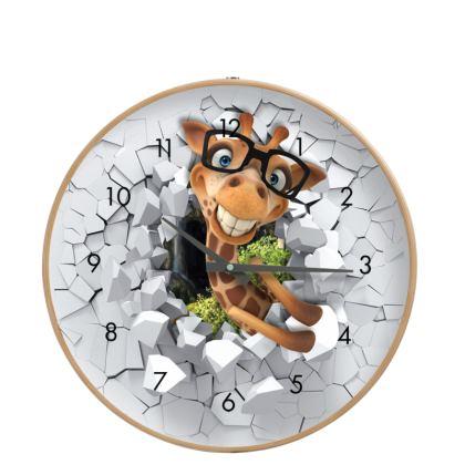 Wall Clock Gavin the Giraffe