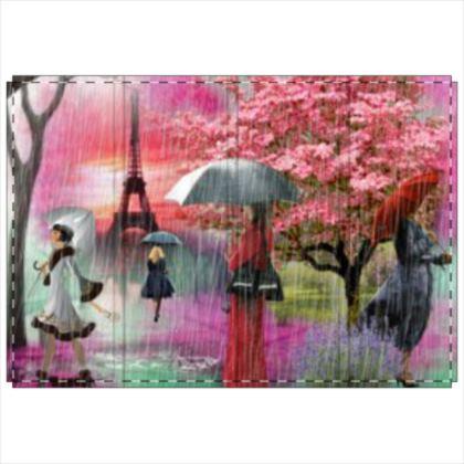 Raining in Paris Folding Screen