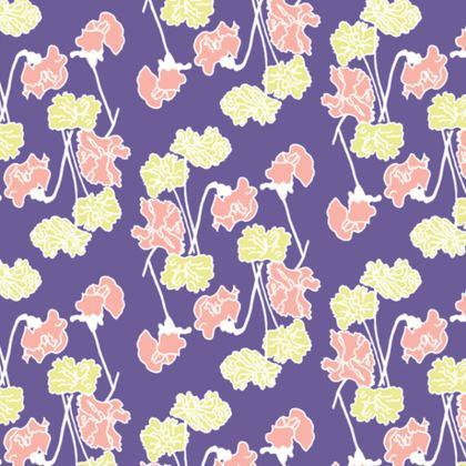 Cushion Floral Sweet Pea