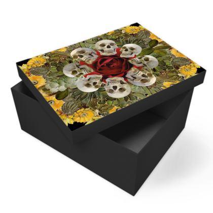 Western Skulls Photo Box