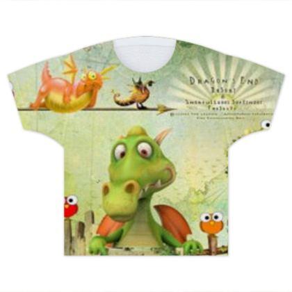 Me & My Dragon Kids T Shirts