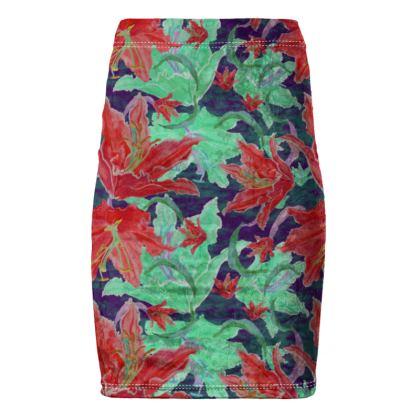Pencil Skirt  Lily Garden  Jubilant