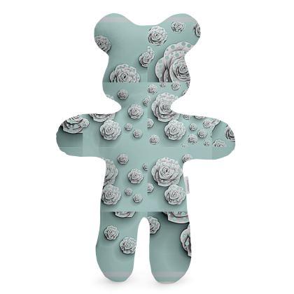 Bambola di stoffa  da collezione con stampa artistica