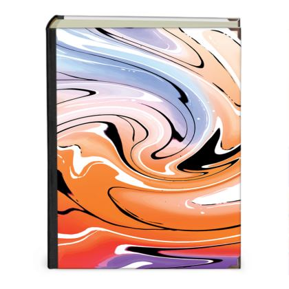 Photo Albums - Multicolour Swirling Marble Pattern 4 of 12