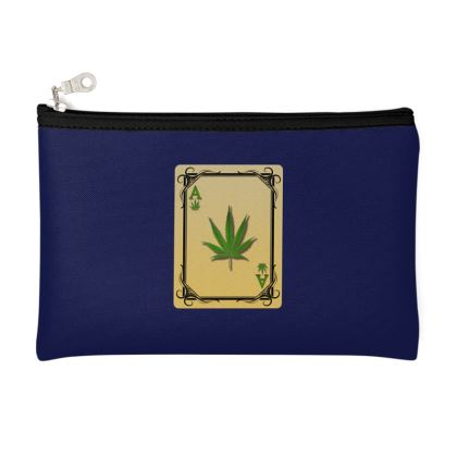 Zip Top Pouch - Ace of Weed