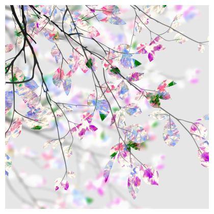 Springtime Branches Luxury Cushion