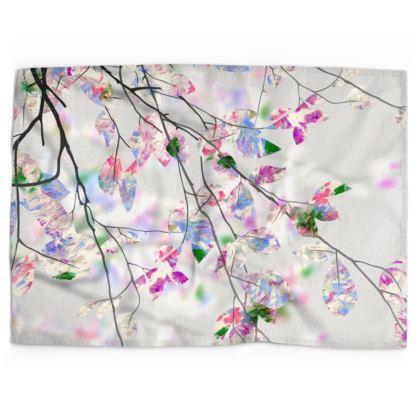 Springtime Branches Tea Towel