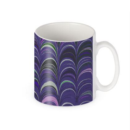 Builders Mugs - Around Ex Libris Purple Remix (1800 -1950)