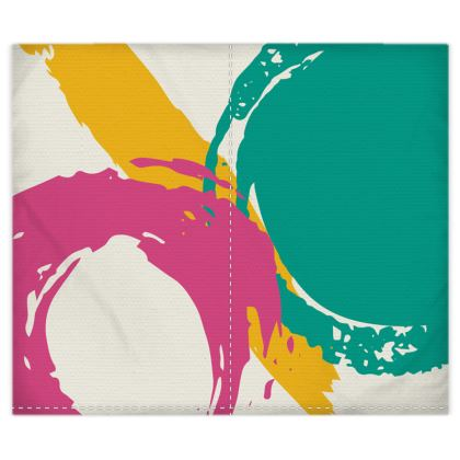 Duvet cover modern abstract