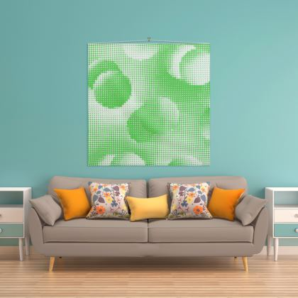 Wall Hanging - Endleaves of Art. Taste. Beauty (1932) Green Remix