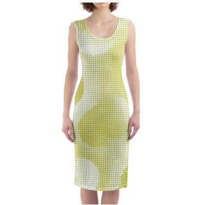 Bodycon Dress - Endleaves of Art. Taste. Beauty (1932) Yellow Remix