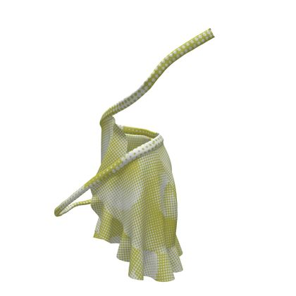 Short Flounce Skirt - Endleaves of Art. Taste. Beauty (1932) Yellow Remix