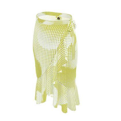 Long Flounce Skirt - Endleaves of Art. Taste. Beauty (1932) Yellow Remix