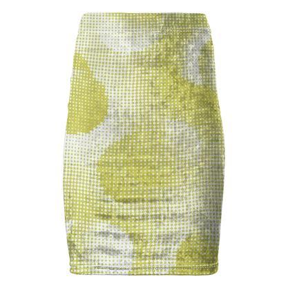 Pencil Skirt - Endleaves of Art. Taste. Beauty (1932) Yellow Remix