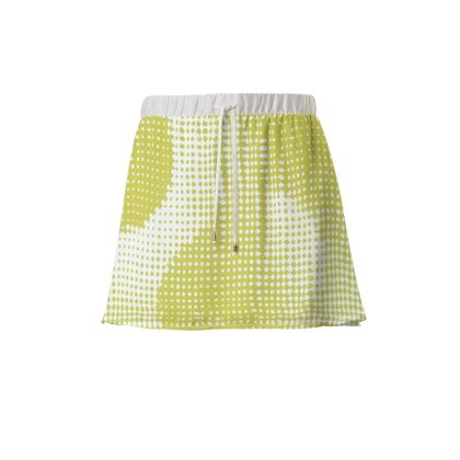 Mini Skirt - Endleaves of Art. Taste. Beauty (1932) Yellow Remix