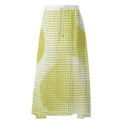 Maxi Skirt - Endleaves of Art. Taste. Beauty (1932) Yellow Remix