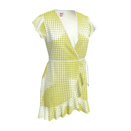 Tea Dress - Endleaves of Art. Taste. Beauty (1932) Yellow Remix