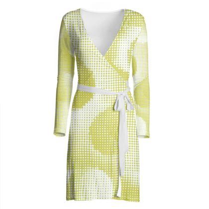 Wrap Dress - Endleaves of Art. Taste. Beauty (1932) Yellow Remix