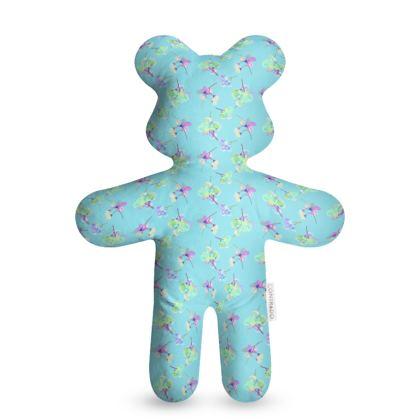 Teddy Bear  My Sweet Pea  Treat in Turquoise