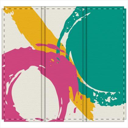 Folding screen modern abstract