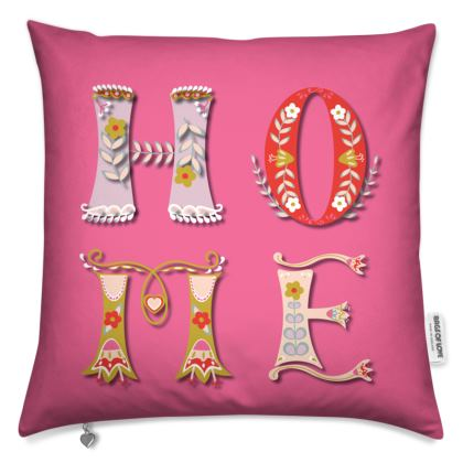Pink Home Cushion