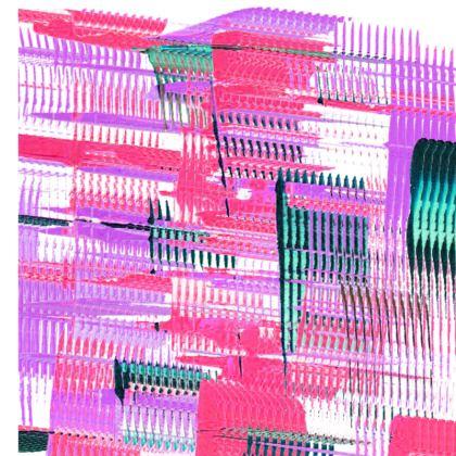 Long Pink Lines Socks