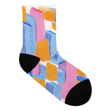 Paint Print Socks