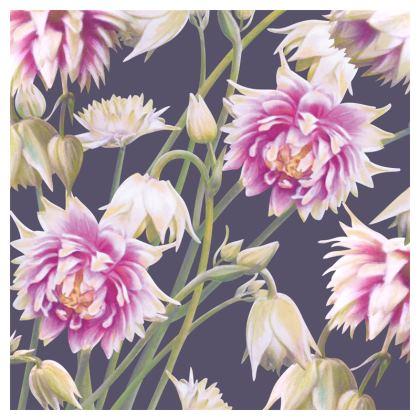 Nora Barlow Aquilegia Luxury Cushion