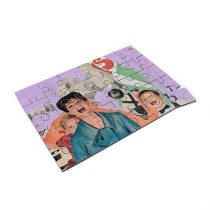 Purple Family Jigsaw Puzzle