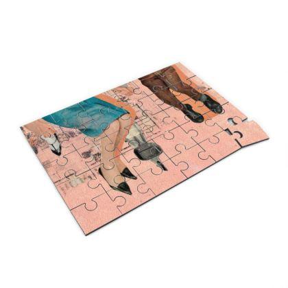 Orange Family Jigsaw Puzzle