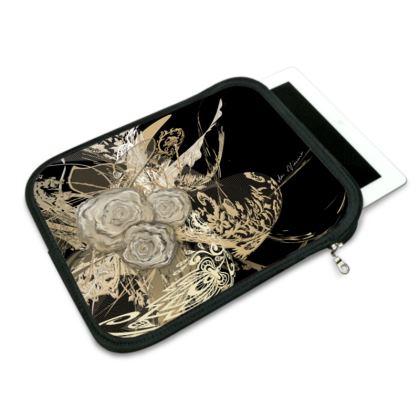 ipad slip case - ipad fodral - 50 shades of lace black